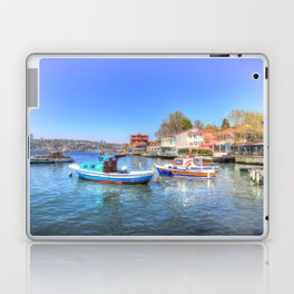 Boats on The Bosphorus Istanbul Laptop & iPad Skin