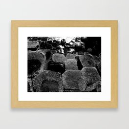 The Giants Causeway Framed Art Print