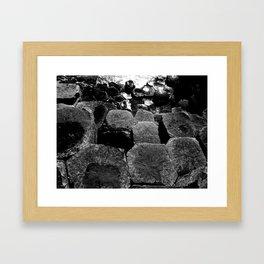 The Giants Causeway Framed Art Print