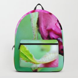 Rolled-up Wet Rose Backpack