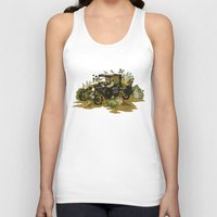 home sweet home Tank Tops featuring Home Sweet Home by Teagan White