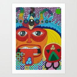 The Purge Art Print