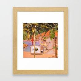 ΔSTRΔL ISLΔND Framed Art Print