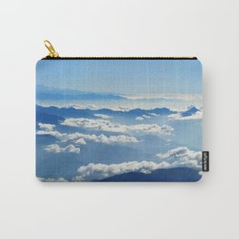 Mountains and Clouds in Nepal  Carry-All Pouch