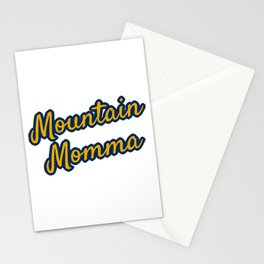 Mountain Momma West Virginia Gifts Stationery Cards