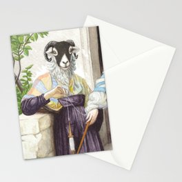 The Sheep Spinner Stationery Cards