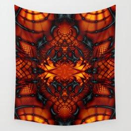 Fractal Art - Devil I Wall Tapestry