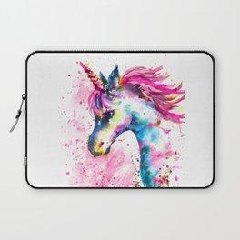 Pink Unicorn Laptop Sleeve
