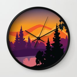My Nature Collection No. 16 Wall Clock