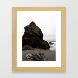 By the Break by Jessi Fikan Framed Art Print