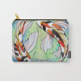 Koi Harmony Carry-All Pouch