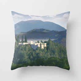 Napa Valley - Sterling Vineyards, Calistoga District Throw Pillow
