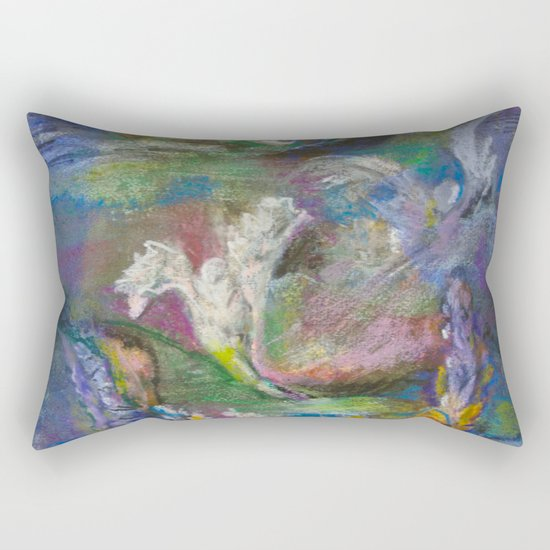 Babylonian Pondlife Rectangular Pillow