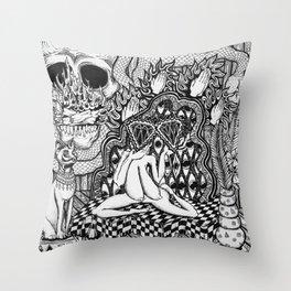 Diamond Priestess  Throw Pillow