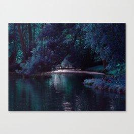 Mystical Lake Canvas Print