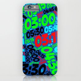 Pace of Run iPhone Case
