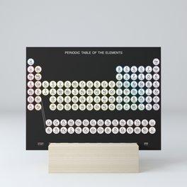 Periodic Table of the Elements Mini Art Print