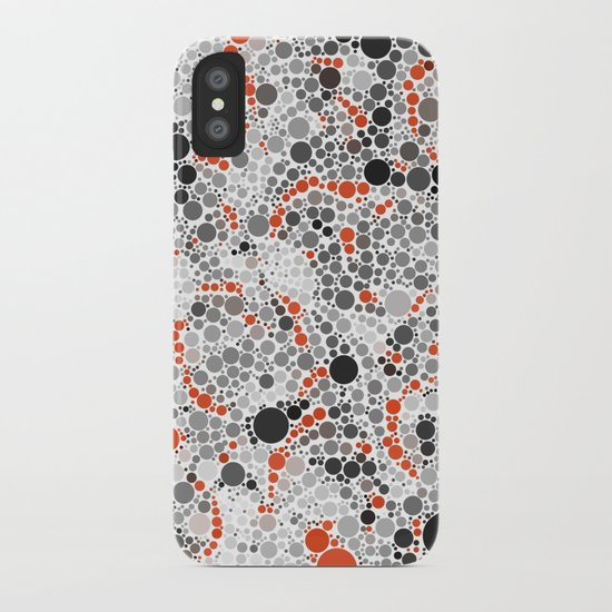Volcano Dots iPhone Case
