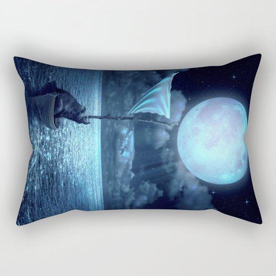 Set Adrift Rectangular Pillow