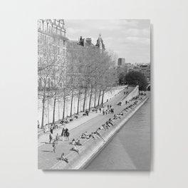 Springtime in Paris Metal Print