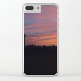 HOT SPRINGS BOUND Clear iPhone Case