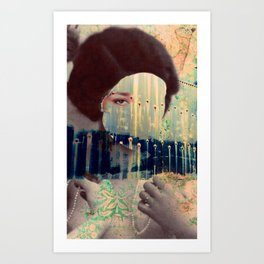 Countenance Sequence 2 Art Print