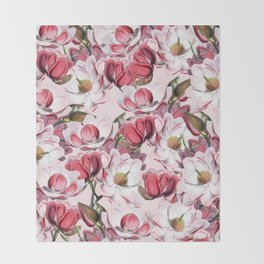 Magnolia Throw Blanket