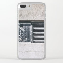 ghosts of silver past Clear iPhone Case