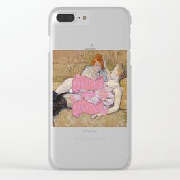 Girls support Girls Clear iPhone Case