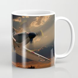 A Fighter Plane Returns Home Coffee Mug