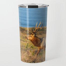 Tule Elk Bull Travel Mug