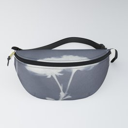 wildflower cyanotype Fanny Pack