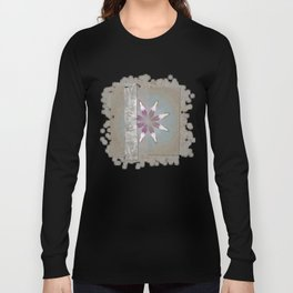 Turk In The Altogether Flowers  ID:16165-065856-95341 Long Sleeve T-shirt