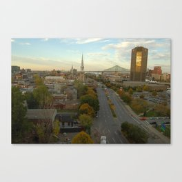Montreal in Fall Canvas Print