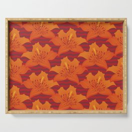 Tiger Lily Serving Tray