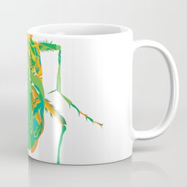 Tiger Beetle _ psychedelic bug 2.1_Besouro Independente Coffee Mug