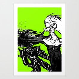 FUCK YOU JACKIE Art Print