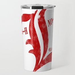 The Red Logo of Death Note Anime Travel Mug
