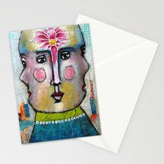 Three Faces of Beauty Stationery Cards