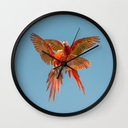 INFLIGHT FIGHT Wall Clock