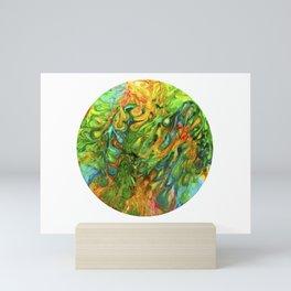 Soap Film sheets Are Psychedelic Eye Treats Mini Art Print