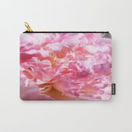 Peony Petals, Mandy Ramsey, Soul Happy Art, Haines, AK Carry-All Pouch