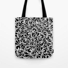 Lyla Black Tote Bag