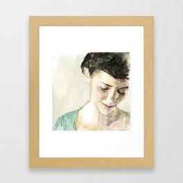 Amelie Poulain  Framed Art Print