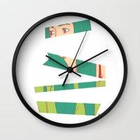 bambi Wall Clocks featuring Bambi by Katlix Design