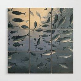 School of Fish 2 Wood Wall Art