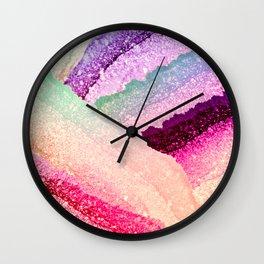 FLAWLESS UNICORN RAINBOW Wall Clock
