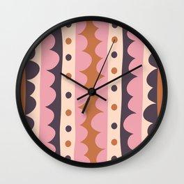 Rick Rack Candy Wall Clock