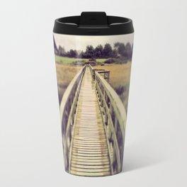 Boardwalk in Newtown Creek Travel Mug
