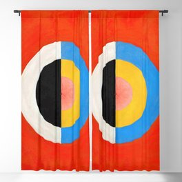 12,000pixel-500dpi - Hilma af Klint - Swan - Digital Remastered Edition Blackout Curtain